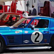 Corvette Grand Sport 1963 Poster