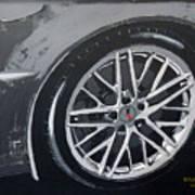 Corvette Wheel Poster