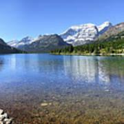 Cosley Lake Outlet - Glacier National Park Poster