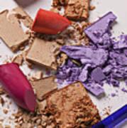 Cosmetics Mess Poster