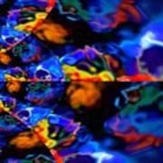 Cosmic Colors Poster
