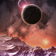 Cosmic Range Poster by Phil Perkins