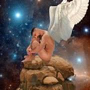 Cosmic Skies Poster by Crispin  Delgado