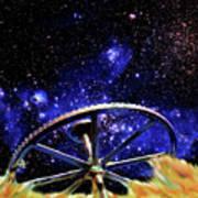 Cosmic Wheel Poster