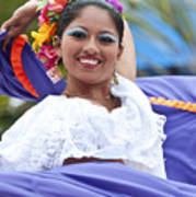 Costa Maya Dancer Poster