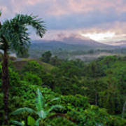 Costa Rica Volcano View Poster