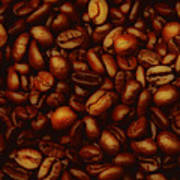 Costa Rican Coffee Poster