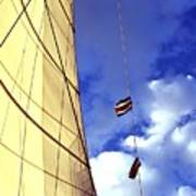 Costa Rican Sailing Poster
