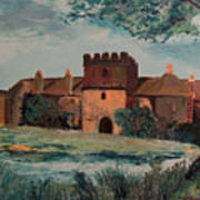 Cotehele Manor House Poster