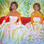 Cotillion Poster by Patricia Taylor