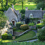 Cotswold Cottages Poster