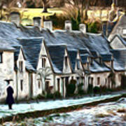 Cotswold Scene Poster