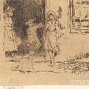 Cottage Door Poster