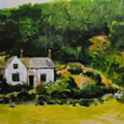 Cottage In Wales Poster