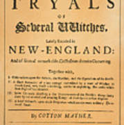 Cotton Mather, 1693 Poster
