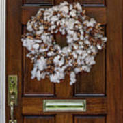 Cotton Wreath Poster