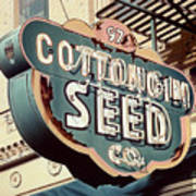 Cottongim Seed Poster