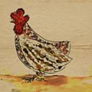 Country Chicken Poster