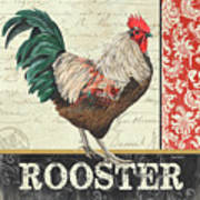 Country Rooster 1 Poster