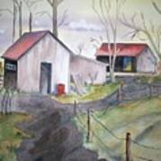 Countryside Dwellings Poster