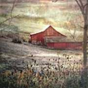 County Farm In Fall Poster