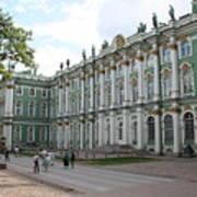 Courtyard Eremitage - Saint Petersburg Poster