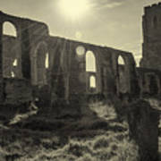 Covehithe Abbey Poster