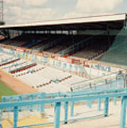 Coventry City - Highfield Road - North Side Thackhall Street Stand 3 - August 1991 Poster