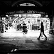 Coventry Street - London, England - Black And White Street Photography Poster