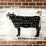Cow Cuts Poster