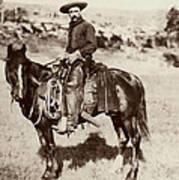 Cowboy, 1887 Poster