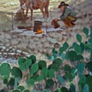 Cowboy Coffeebreak Poster