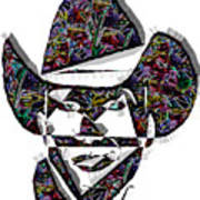 Cowboy Colorful 47 Poster