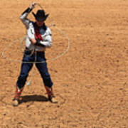 Cowboy Entertainer Poster