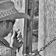 Cowboy Life Poster