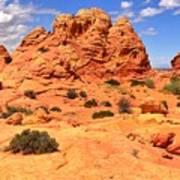 Coyote Buttes Pastel Landscape Poster