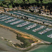 Coyote Point Yacht Club In San Mateo, California Poster