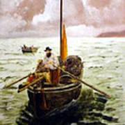 Crab Fisherman Poster