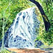 Crabtree Falls - Phantom Of The Blue Ridge Poster