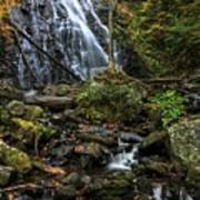 Crabtree Falls In Autumn Poster