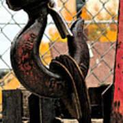 Crane Hook Poster
