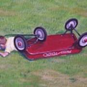 Crash Of The Radio Flyer Poster