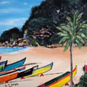 Crashboat Beach I Poster