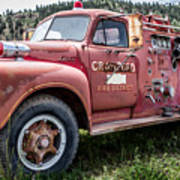 Crawford Fire Truck  Poster
