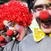 Crazy Circus Clowns Poster