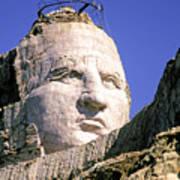 Crazy Horse In Progress II Poster