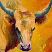 Creamy Texan - Longhorn Poster