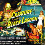 Creature From The Black Lagoon Poster by Everett