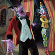 Creepy Circus Poster