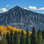 Crested Butte Mountain Poster